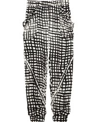 Sass & Bide | Black The Kind Man Silk-crepe Pants | Lyst