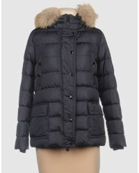 Moncler | Blue Aminta Down Jacket | Lyst