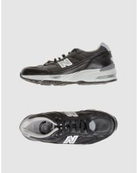 New Balance | Black Low-cut 406 Metal Cleat for Men | Lyst