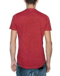 DSquared² - Red Canada Printed T-shirt for Men - Lyst
