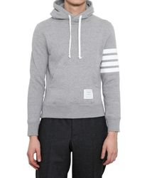 Thom Browne - Gray Overhead Hooded Sweater for Men - Lyst