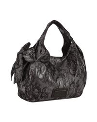 Valentino | Black Rolling Noir Grained Leather Bag | Lyst