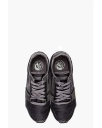 DIESEL - Black Loop Sneakers for Men - Lyst
