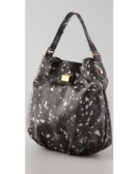 Marc By Marc Jacobs - Black Animal Q Hillier Hobo - Lyst