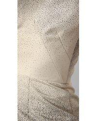 Lela Rose | White Cowl Neck Sheath Dress | Lyst