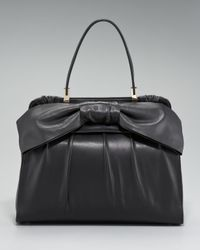Valentino | Black Aphrodite Single Handle Bag | Lyst