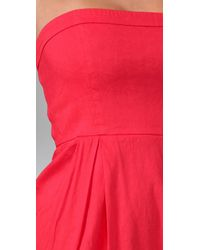 Theory - Red Tyrah Dress - Lyst