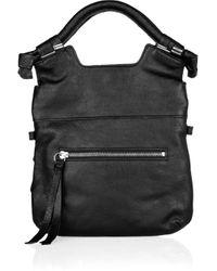Foley + Corinna - Black Grand St. Embellished Leather Bag - Lyst