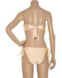 Melissa Odabash - Metallic Amalfi Metal Paillette-embellished Swimsuit - Lyst