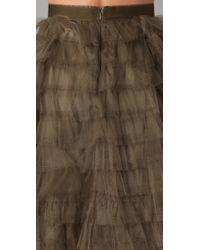 RED Valentino - Green Tutu Skirt - Lyst