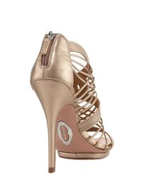 Elie Tahari - Metallic Colby Strappy Sandal - Lyst