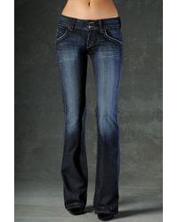 Hudson Jeans | Blue Supermodel Bootcut Stretch Jeans Elm Long | Lyst