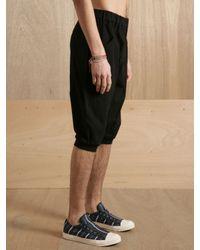 Yohji Yamamoto - Black Mens Short Pants for Men - Lyst