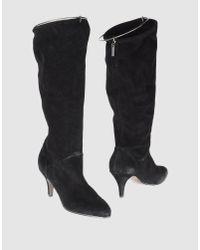 DIESEL | Black Boots | Lyst