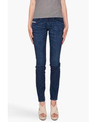 DIESEL | Blue Clushy 67x Jeans | Lyst
