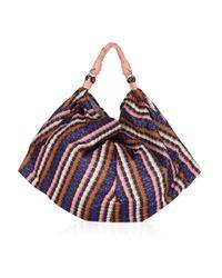 M Missoni   Multicolor Bouclé Knit Cross Body Bag   Lyst