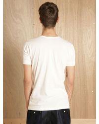 Merz B. Schwanen - White Mens Worker Shirt for Men - Lyst