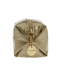 Juicy Couture   Metallic Glitter Small Cosmetic Bag   Lyst