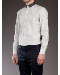 Lanvin - White Long Sleeved Shirt for Men - Lyst