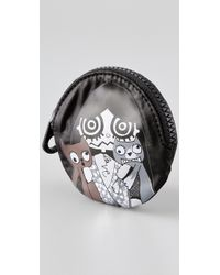 Marc By Marc Jacobs | Black Miss Marc Packables Head Case Coin Purse | Lyst