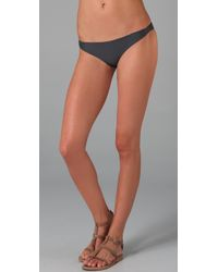 Mikoh Swimwear - Gray Capri Skimpy Bikini Bottoms - Lyst