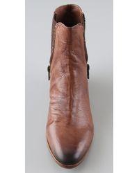 Sam Edelman | Brown Parley Low Heel Chelsea Boot | Lyst