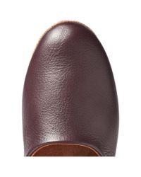 Derek Rose - Brown Gower Leather Slippers for Men - Lyst