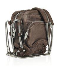 Alexander Wang - Brown Brenda Mini Leather Bag - Lyst
