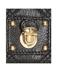 Marc Jacobs   Black Quilted Leather Ginger Crossbody   Lyst