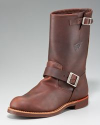 Red Wing | Brown Heritage Engineer Boot for Men | Lyst