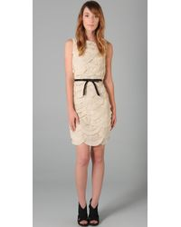 Robert Rodriguez | White Scallop Dress | Lyst