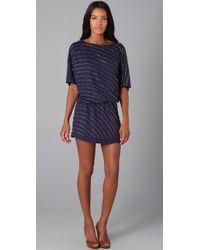 Beyond Vintage | Blue Beaded Dress | Lyst