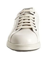 Ferragamo | White World Town 2 Sneakers for Men | Lyst