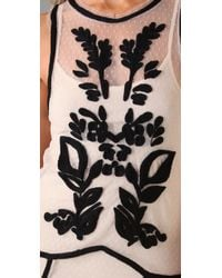 Free People | Natural Paradise Embroidered Dress | Lyst