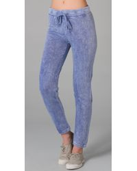 Juicy Couture | Blue Old School Breezy Sweatpants | Lyst