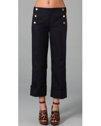 Tory Burch | Blue Stella Pants | Lyst