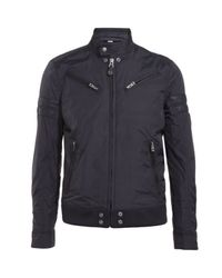 DIESEL | Black Jupenno Jacket for Men | Lyst
