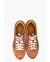 DIESEL - Natural Pass On Sneakers for Men - Lyst
