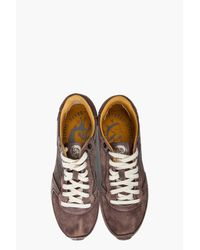DIESEL - Gray Pass On Sneakers for Men - Lyst
