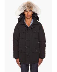 Canada Goose - Black Banff Parka for Men - Lyst
