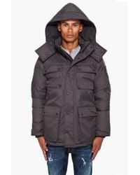 Canada Goose | Black Manitoba Jacket for Men | Lyst