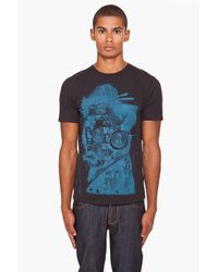 Marc Jacobs | Black Printed T-shirt for Men | Lyst