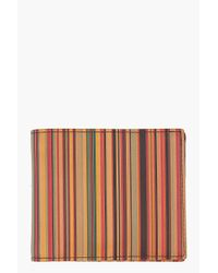 Paul Smith | Multicolor Striped Wallet for Men | Lyst