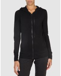 T By Alexander Wang - Black Sweatshirt - Lyst