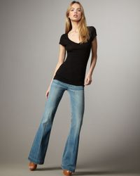 Citizens of Humanity | Blue Hutton Tide High-rise Wide-leg Jeans | Lyst