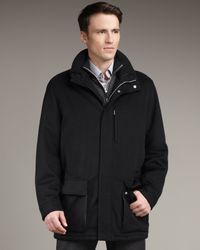 Ermenegildo Zegna | Black Cashmere Jacket for Men | Lyst