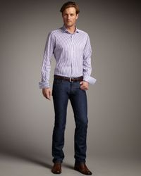 Etro | Blue Dark-wash Jeans for Men | Lyst