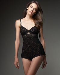 Hanky Panky | Signature Lace Teddy, Black | Lyst