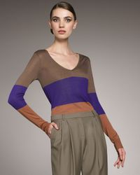 Jason Wu | Multicolor Quillan Colorblock Sweater | Lyst