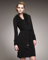 Jean Paul Gaultier | Black Knee Length Cardigan-dress | Lyst